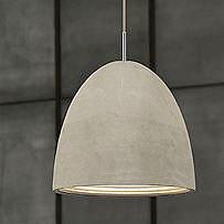 Concrete Pendant Light Large2