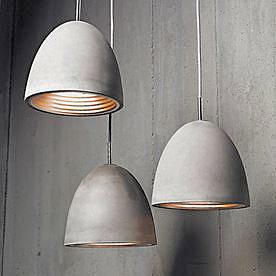 Concrete Pendant Light Medium1
