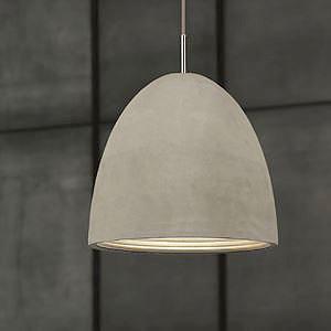 Concrete Pendant Light Medium2