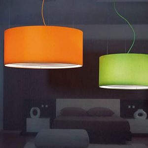 Drum Pendant Lights1