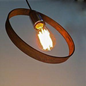 pendant light dome