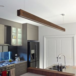 Timber Pendant - Linear Light Beam T 1.2m1