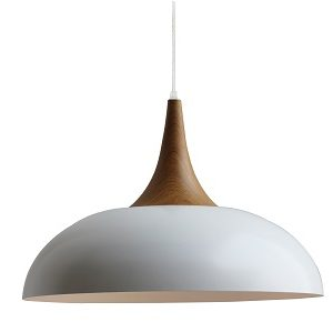 WHITE DENMARK PENDANT LIGHT
