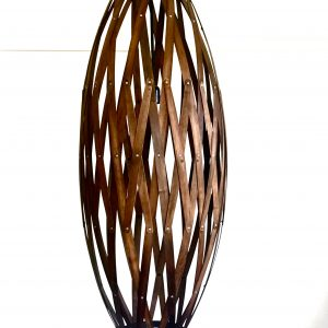 timber pendant light