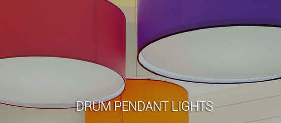 drum pendant lights - gap lighting sydney